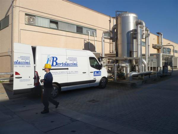 Assistenza e manutenzione Impianti frigoriferi azienda packaging