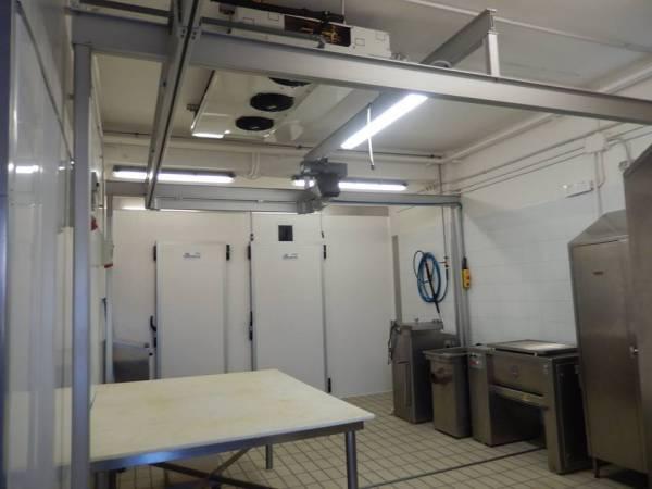 Climatizzazione sala lavorazione carni macelleria