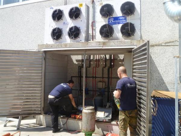 Manutenzione Impianto Frigo Cella Conceria