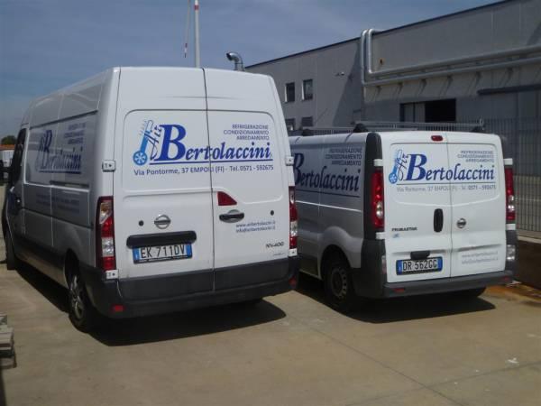 Furgoni Officina attrezzati a laboratorio per interventi rapidi su qualsiasi impianto di refrigerazione