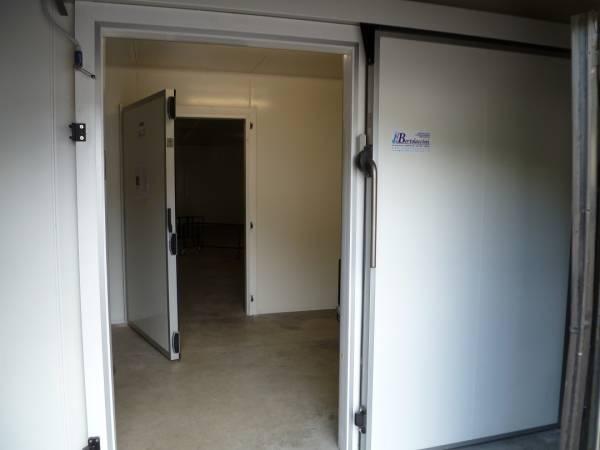 Cella e anticella frigorifera installa presso Cappelle Sale del Commiato - Firenze