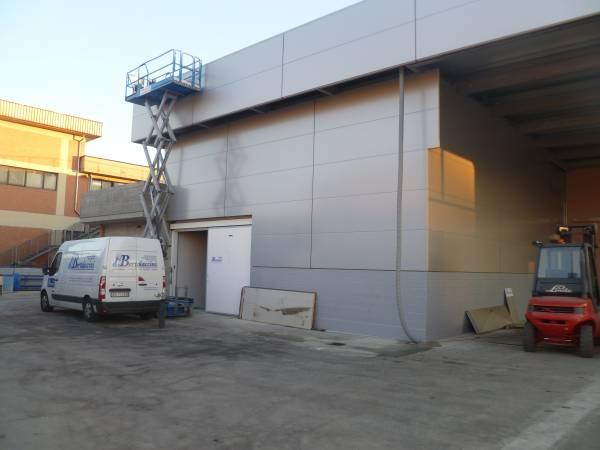 Progettazione ed installazione cella frigorifera per conservazione pelli grezze