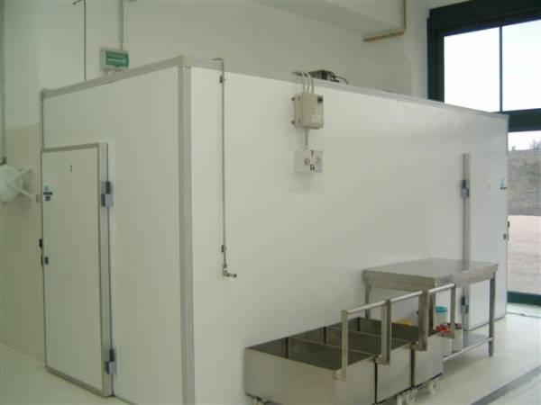 Cella frigorifera per settore alimentare installata in pasticifio artigianale