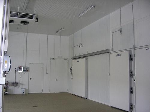 Celle frigo climatizzate con evaporatore doppio flusso