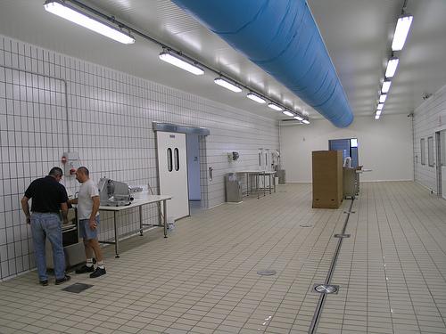 Climatizzazione Ambienti Lavoro con canale centrale di corridoio