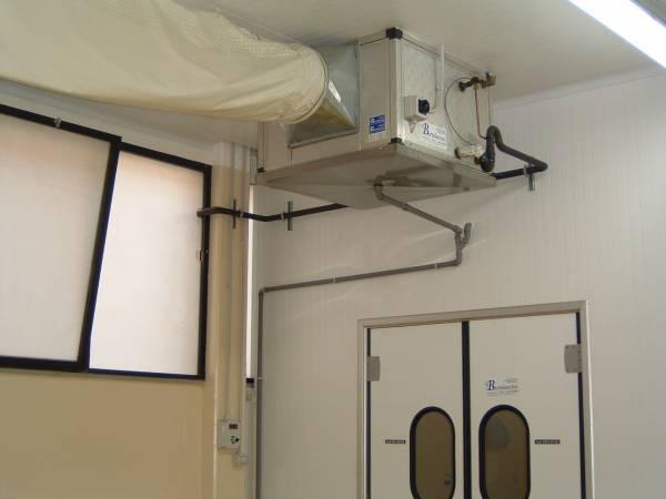 Climatizzazione Ambienti Lavoro - Sala lavorazione con UTA