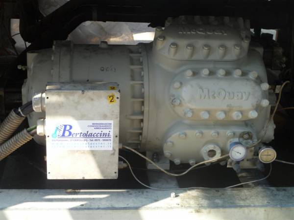 Installazione compressore su impianto di refrigerazione industriale - Empoli -