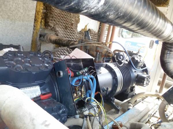 Compressore tandem impianto refrigerazione acqqua