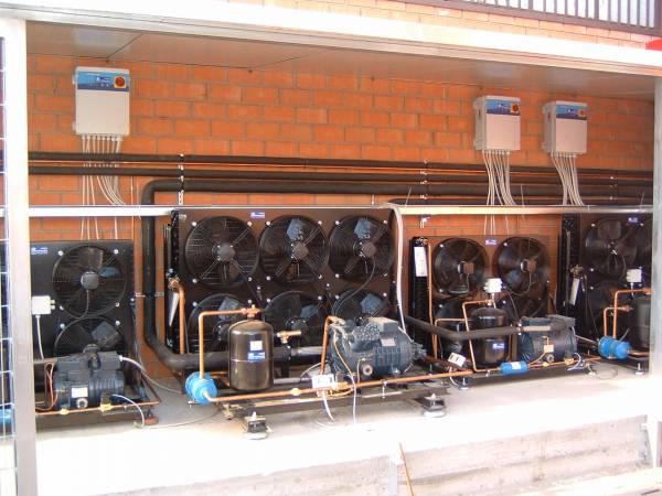 Compressori per Impinato di Refrigerazione Industriale
