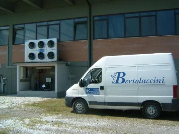 Impianto frigo su magazzino di conservazione pelli