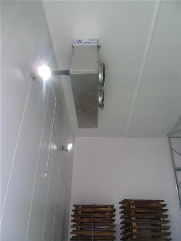 Evaporatore Inox per cella frigo conservazione pelli grezze