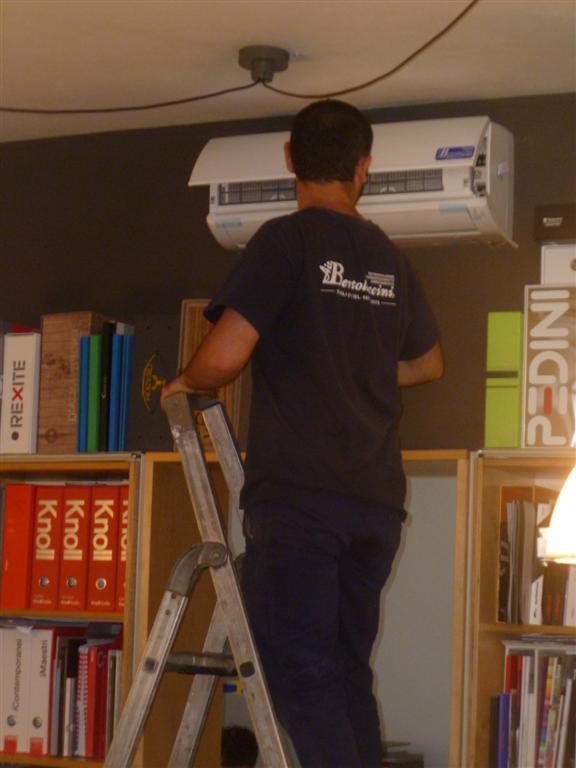 Progettazione ed installazione di impianti di climatizzazione residenziale e per uffici, bar, negozi