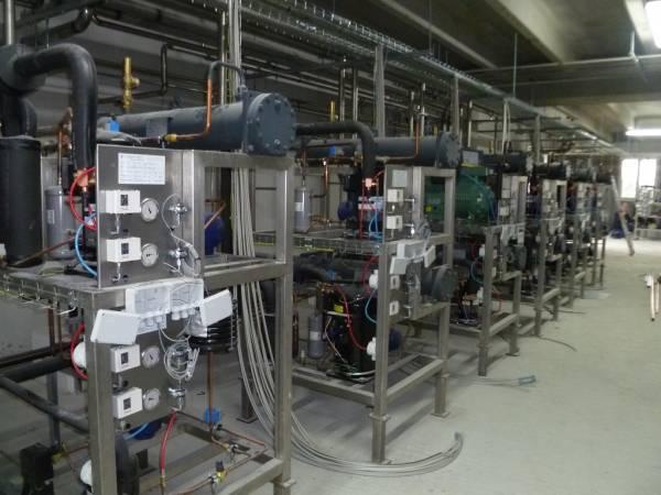 Realizzazione di un nuono Impianto di refrigerazione industria alimentare