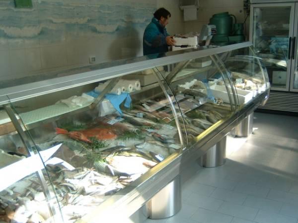 Progettazione e realizzazione negozi_Banchi frigo per pescherie_Air Bertolaccini