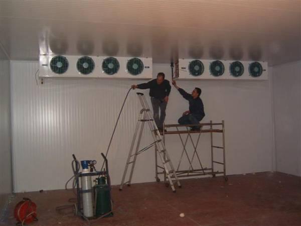 Riparazione celle frigo e impianti di refrigerazione industriale